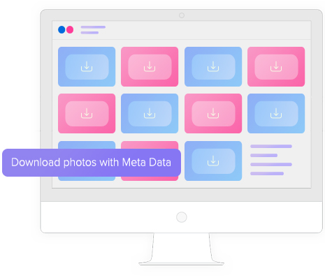 Download photos with Meta Data